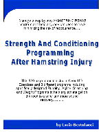 Hamstring Treatment Menu